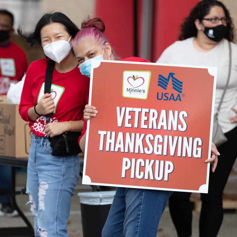 veterans thanksgiving pickup