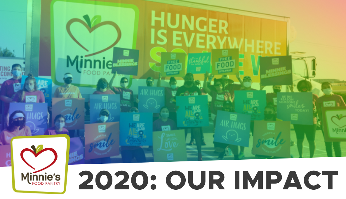 2020 Our Impact Minnie's Food Pantry