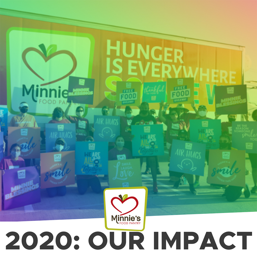 2020 our impact minnies food pantry