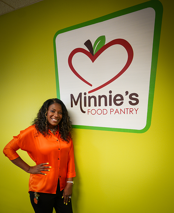 Cheryl Jackson Founder Minnie's Food Pantry