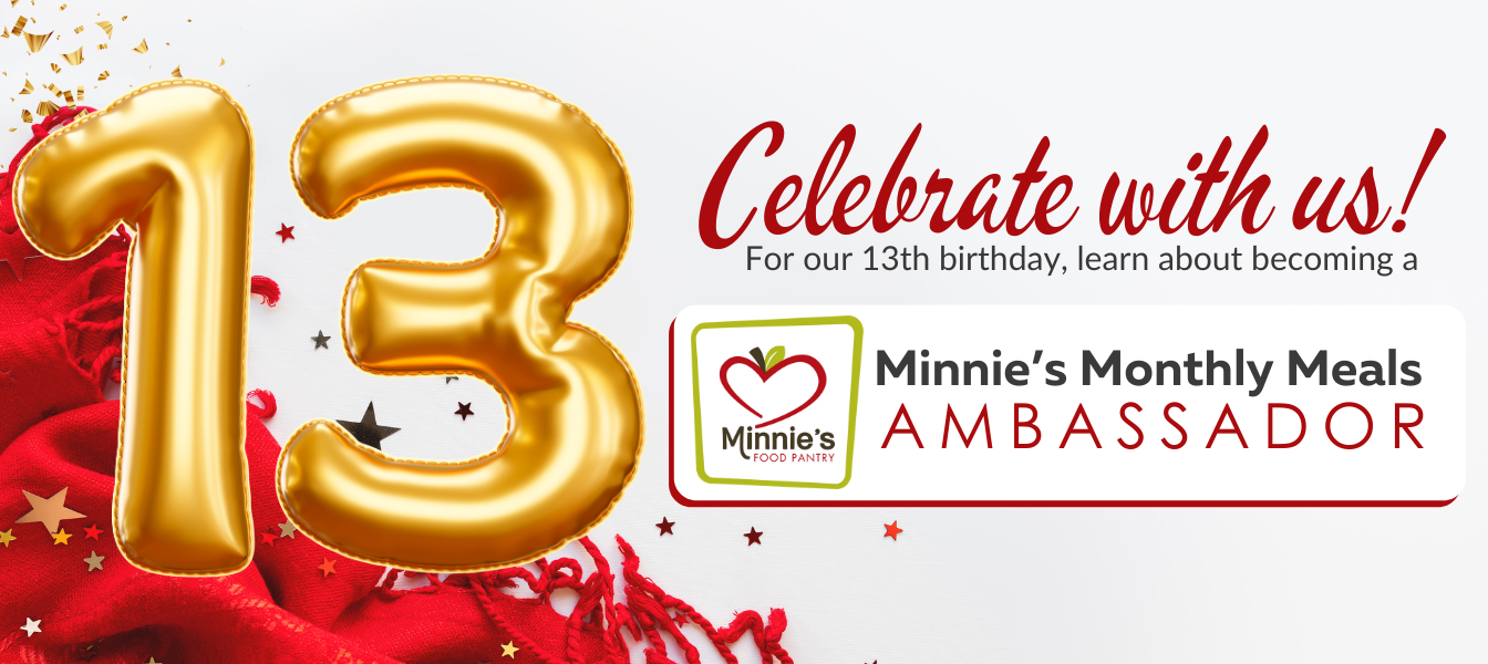 Minnie's Monthly Meal Ambassador