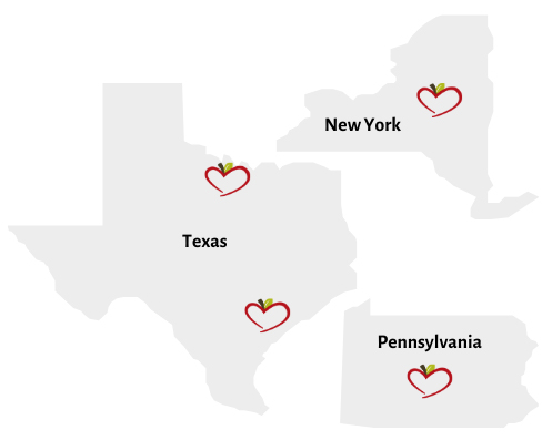 Our locations Minnie's Food Pantry