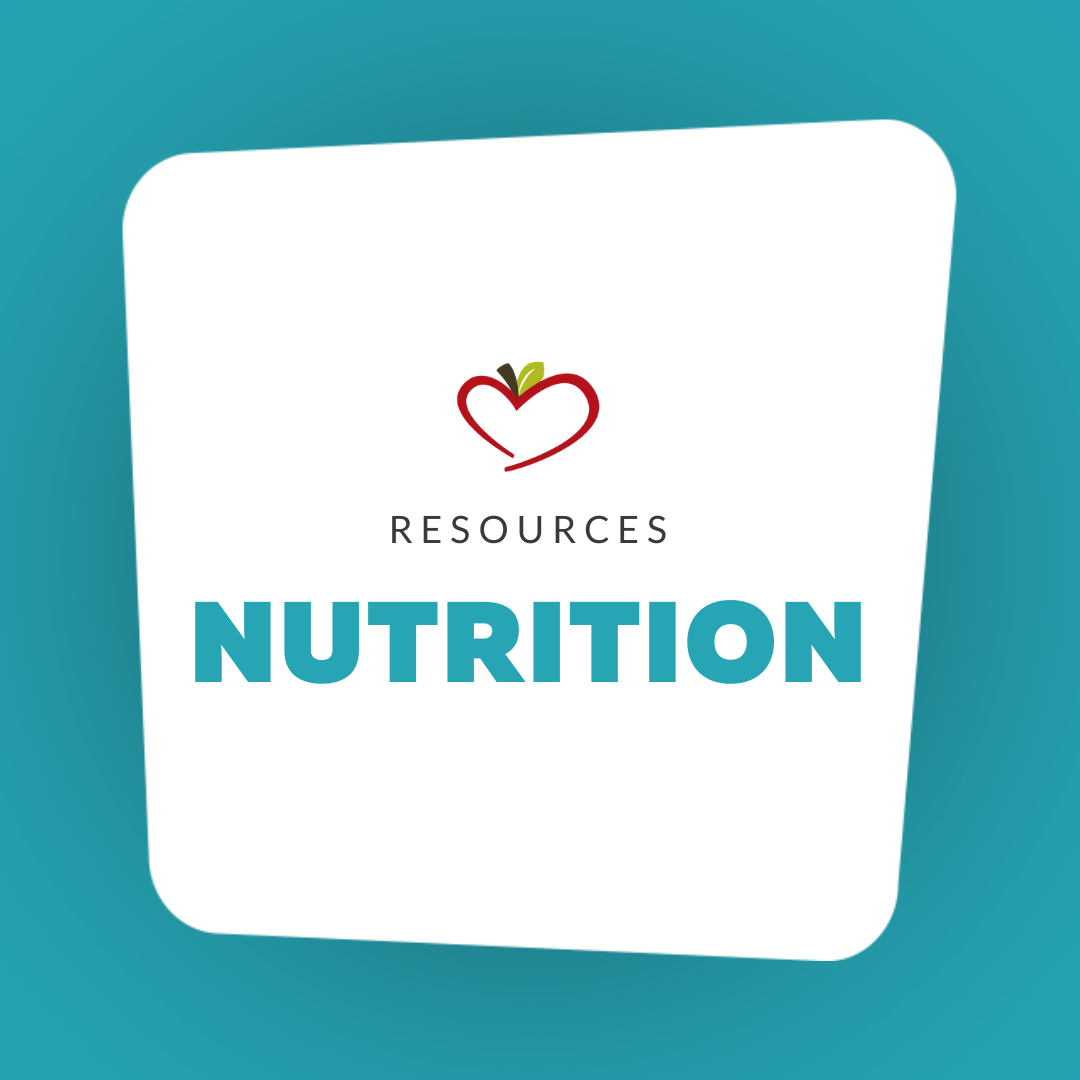 Nutrition Resources Minnie's Food Pantry
