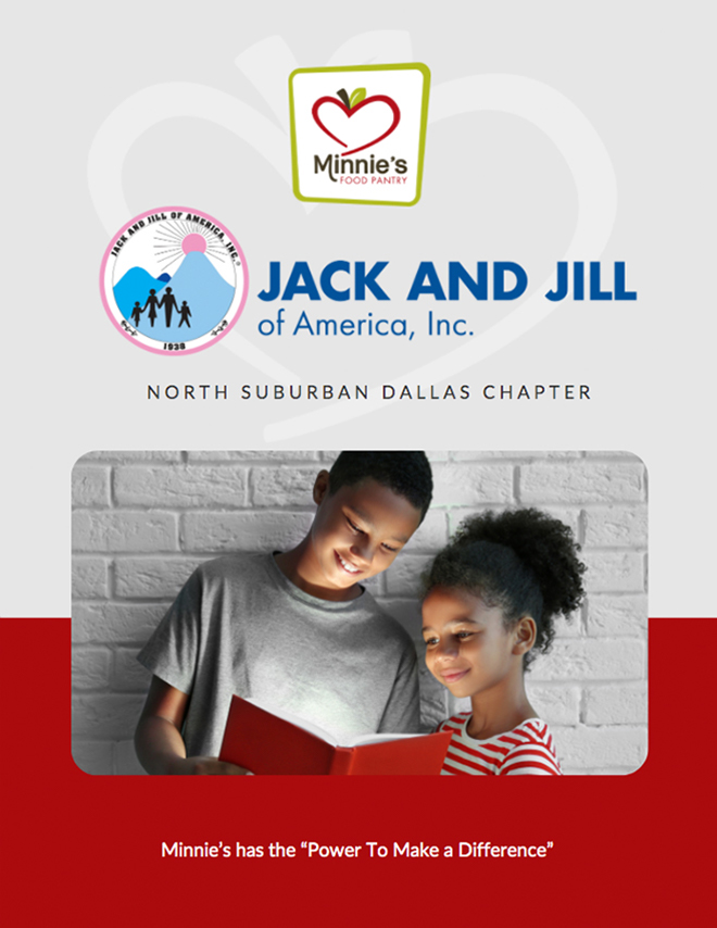 Jack and Jill Foundation Minnies Food Pantry Impact